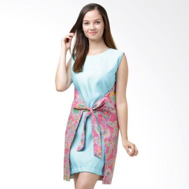 Moda Batik Debby Dress - Blue