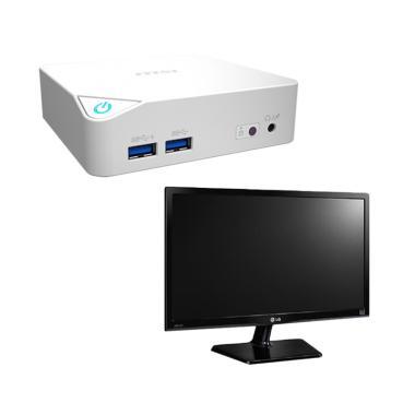 Jual MSi Cubi Desktop PC Bundling LG 22M47VQ Monitor [Celeron 3250U/4GB/500GB] Harga Rp Segera Hadir. Beli Sekarang dan Dapatkan Diskonnya.