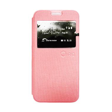 Nano Flip Cover Casing for Sony Xperia M5 - Pink