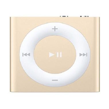 Apple iPod Shuffle MKM92 Portable Player - Gold [2 GB]