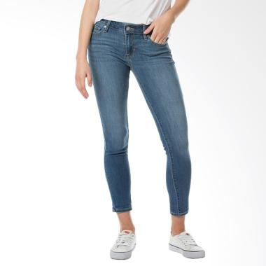 Levi's 19558-0015 711 Skinny Fit Pe ... lana Wanita - Light Years