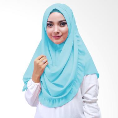 Milyarda Hijab Oshi Hijab Instan - Biru