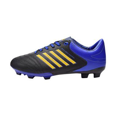 Ardiles Men Ngolo Sepatu Soccer - Biru Hitam