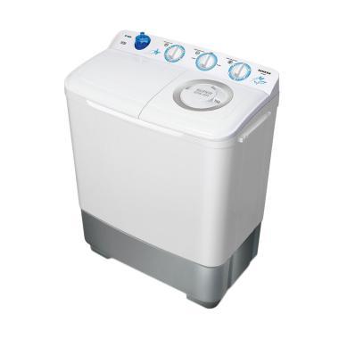 Sanken TW-880 Mesin Cuci Twin Tub [7 Kg]