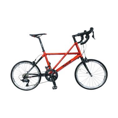 TYRELL CSI Minivelo Sepeda Lipat - Candy Red