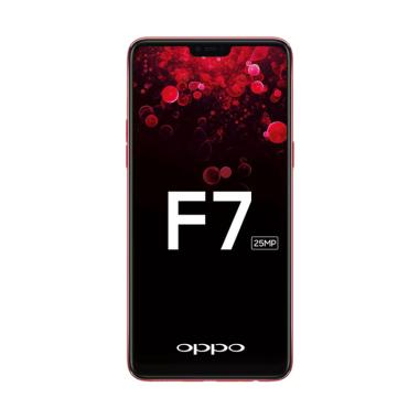 OPPO F7 Smartphone - Red [64 GB/ 4 GB]