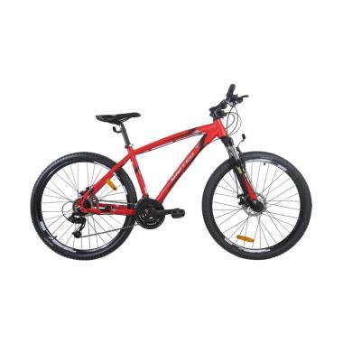 United Detroit 1.0 Sepeda MTB - Merah [27.5 Inch]