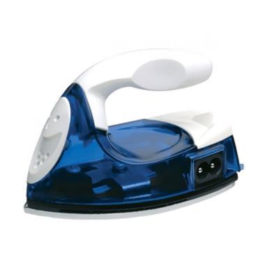Travel Micro Iron / Setrika Mini Portable - Biru
