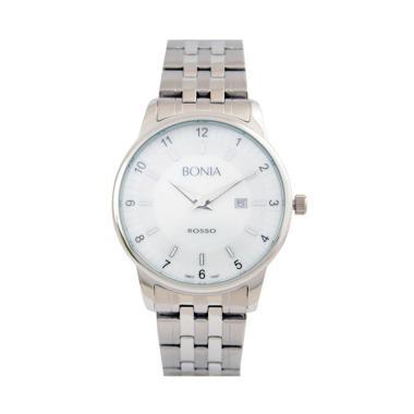 Bonia B10097-1315 Jam Tangan Pria - Silver