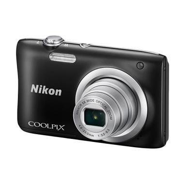 Nikon Coolpix A100 Kamera Pocket Bl ... asang ) Ladang Elektronik
