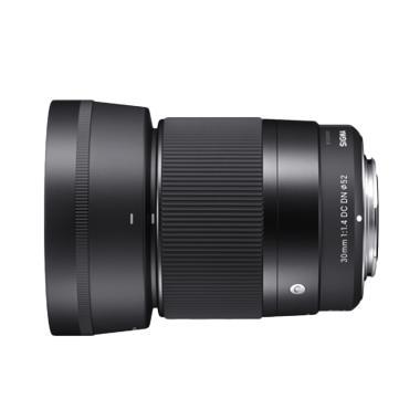 Sigma 30mm F1.4 DC DN AF Lensa Kamera for Sony - Black