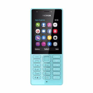 Nokia 216 Handphone - Biru [Dual SIM]
