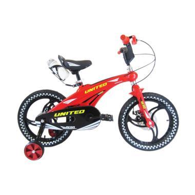 harga United Aero Sepeda Anak - Merah [16 Inch] Blibli.com