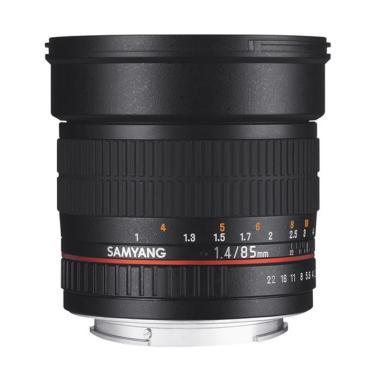 Samyang Lens 85mm F/1.4 For Canon - Black