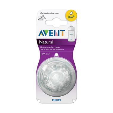 harga Avent Teat Natural Newborn Dot Bayi Putih Blibli.com