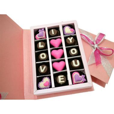 Jual Trulychoco Gift Love Pink Coklat Online Harga Kualitas Terjamin Blibli Com