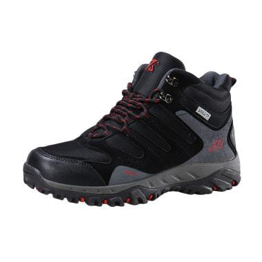 Snta 490 Sepatu Gunung - Black Red