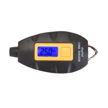 Digital LCD Tire Pressure Monitor - Black