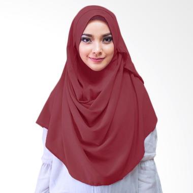 Milyarda Hijab Saraha Hijab Instan - Maroon