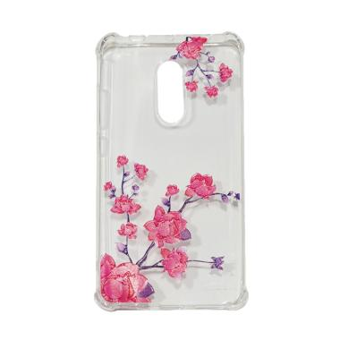Winner Autumn Flower Anti Crack Silicone Casing for Xiaomi Redmi Note 4