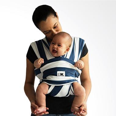 Baby K'Tan Original Basic Baby Carrier Print Nautical Size XS | Gendongan Bayi