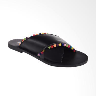 Papercut Shoes GZ 02 Long Xin 125-2 ... ide Sandal Wanita - Black