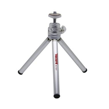 Takara M-1031 Mini Tripod - Silver + Holder U