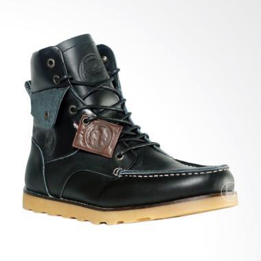 Bradley's Bradleys Phantom Sepatu Kulit Pria Bradley - Hitam