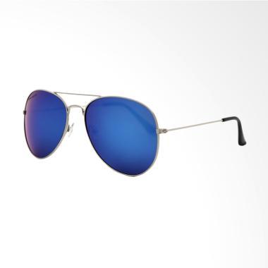 HILLSBROOKE Women's Classic Kacamata - Blue