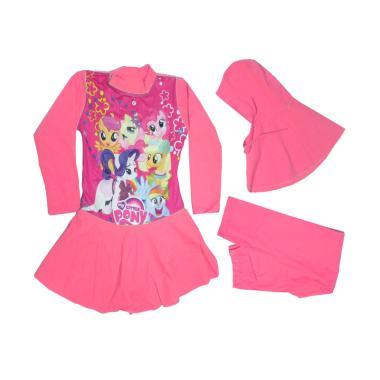 Rainy Collections Karakter My Littl ...  - Baby Pink [5-10 Tahun]