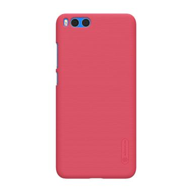 Nillkin Super Frosted Shield Hardcase Casing forXiaomi Mi Note 3 - Red