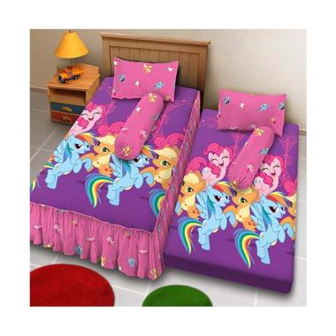 Kintakun Sprei 2in1 D'Luxe - 120 x 200 (Single) - Classic Little Pony