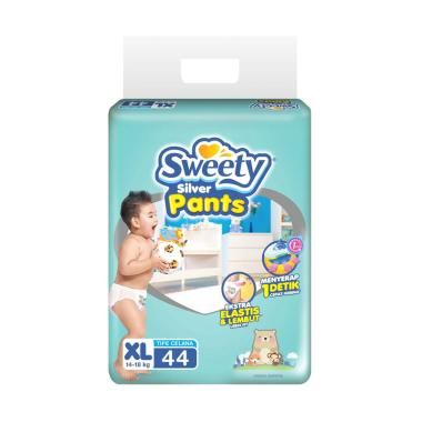 Sweety Diapers Silver Pants [XL/ 44 Pcs]