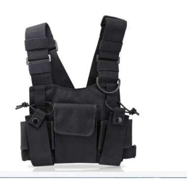 harga Rompi HT JPC Simple Vest Handie Talkie Bag Tas Tempat Radio Nyaman Blibli.com