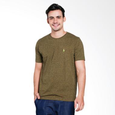 POLO RALPH LAUREN Custom Fit Company T-Shirt Pria - Olive [PX3100010]