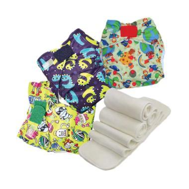 ... Teenyfit Newborn Size Polos Sweetpea Clodi Source Babyland New Pocket . Source · Little Hippo Motif 101 Paket Hemat Pocket Waterproof Popok Bayi