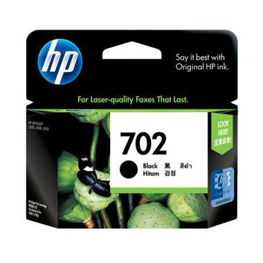 HP Original 702 Tinta Cartridge - Black