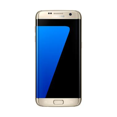 Samsung Galaxy S7 Edge Smartphone - Emas