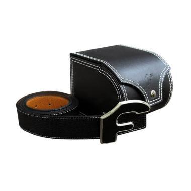 Forgiato Leather Belt - Black