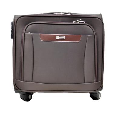 Gloria Bag Koper Navy Travel Bag - Coklat [18 Inch]