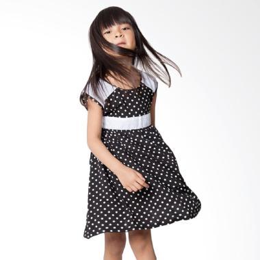 Minimi Candy Dress Anak - Hitam