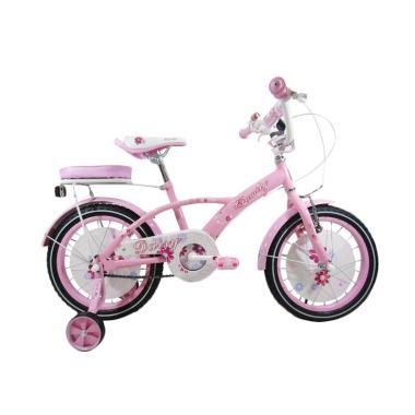 Family Daisy Sepeda Anak - Pink [16 Inch]