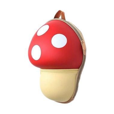J&J Kids Mushroom Backpack - Red
