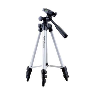 Tripod 3110 Alumunium Tripod Camera Mini - Silver
