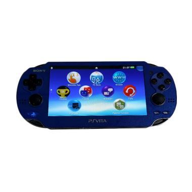 SONY PS Vita Fat CFW - Biru [Micro SD 32 GB Full Games]