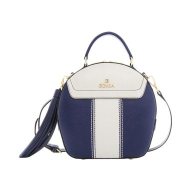 Bonia Dynamic Sonia Hand Bag - Navy