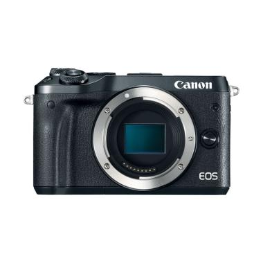 Canon EOS M6 Kamera Mirrorless - Black [Body Only]