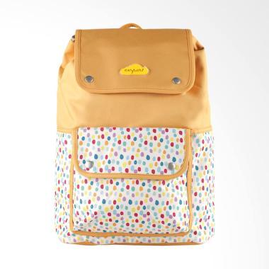 Exsport Citypack Chevronia Backpack - Camel