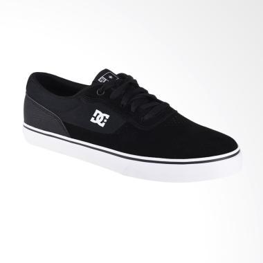 DC Switch S M Shoe Sepatu Sneaker Pria - Black Tan ADYS300104-BT0