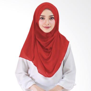 Milyarda Hijab Taqia Kerudung Jilbab Instant - Merah
